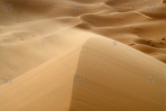 View of sand dunes in Erg Chebbi desert, Morocco
