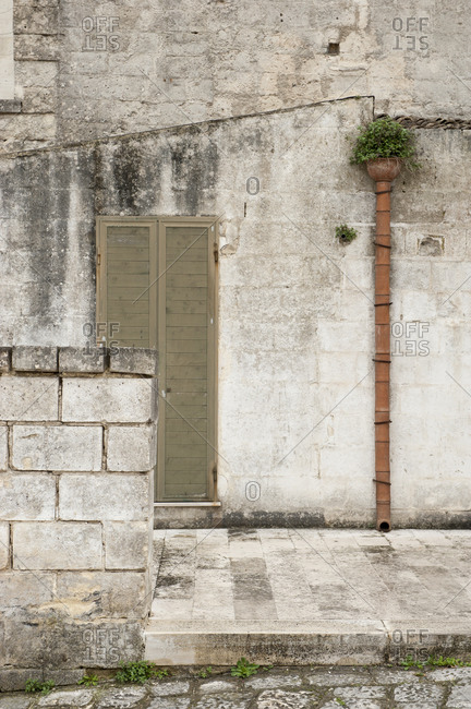 Exterior of Italian house