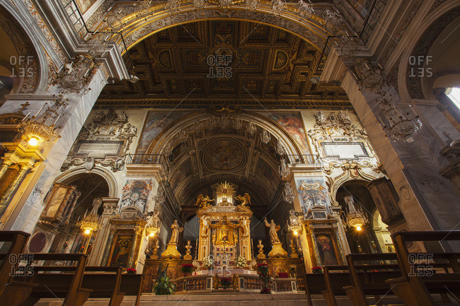 Basilica of St. Mary of the Altar of Heaven; Rome, Italy