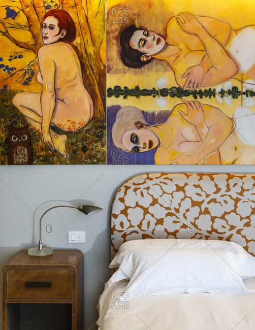 Jose Ignacio, Uruguay - September 18, 2014: The Bahia Vik Hotel in Jose Ignacio, Uruguay