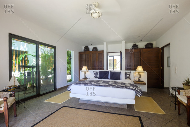 Bedroom in a residential home