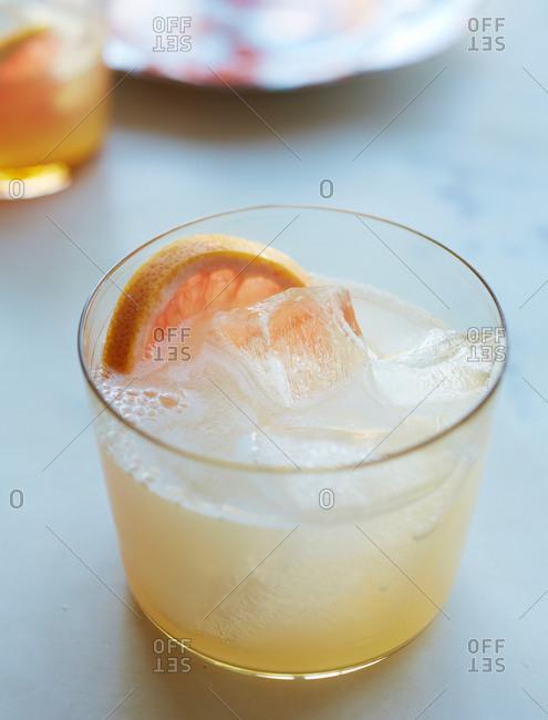 Palomaesque cocktail