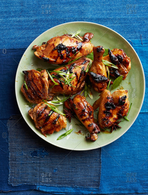 Filipino grilled chicken