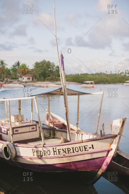 November 4, 2014: Boats by Brazilian coast