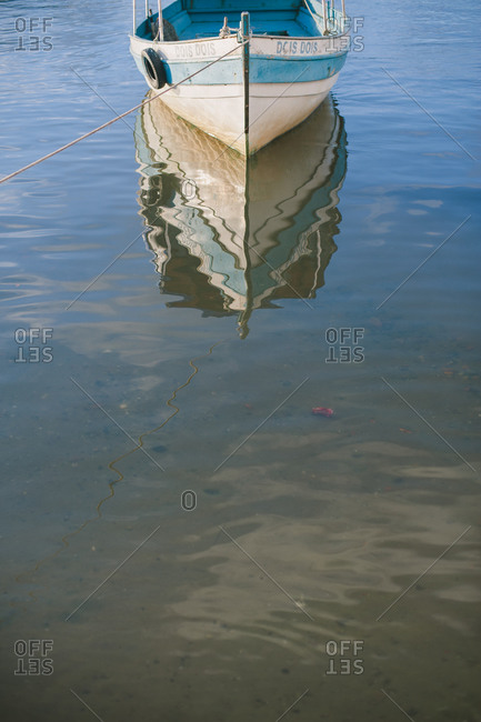 November 4, 2014: A boat on the water, Brazil