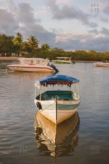 November 4, 2014: A boat on water, Brazil