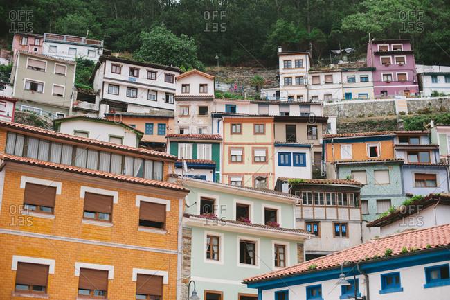 Houses in Asturias, Spain