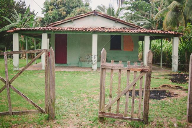 A house in rural Brazil