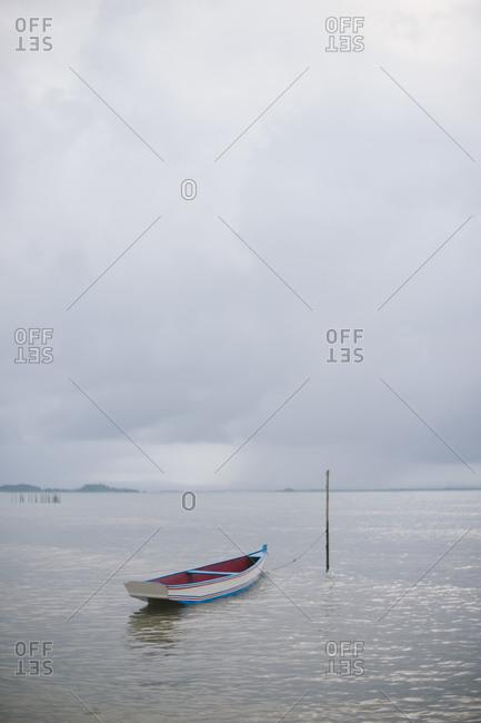 A boat in ocean, Brazil