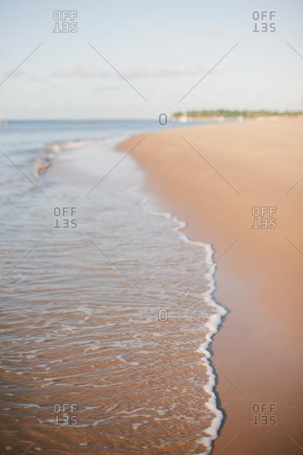 A stretch of beach, Brazil