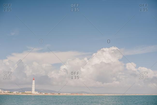 Lighthouse on Portuguese coast