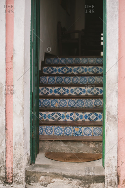 Steps into a Brazilian house