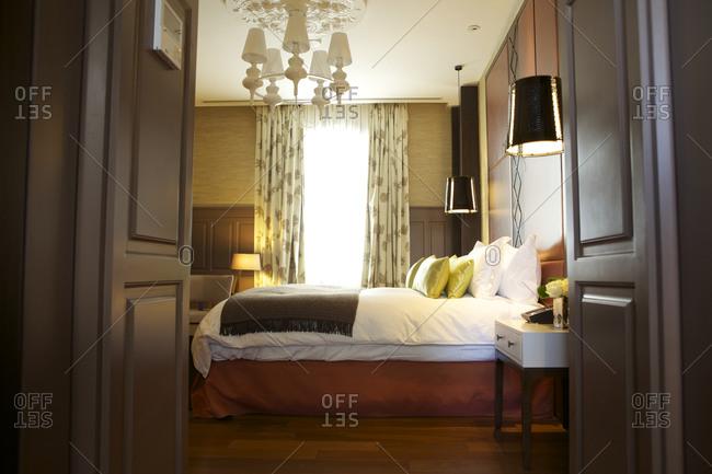 A hotel suite interior in Carrasco, Uruguay