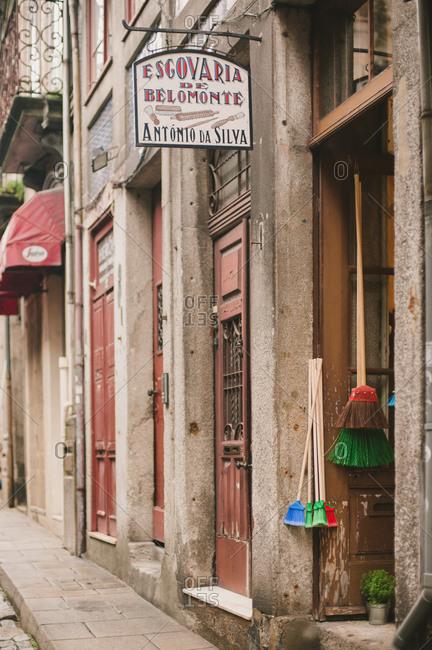 Porto, Portugal - October 28, 2015: Escovaria de Belomonte