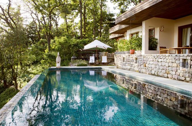 A private pool villa