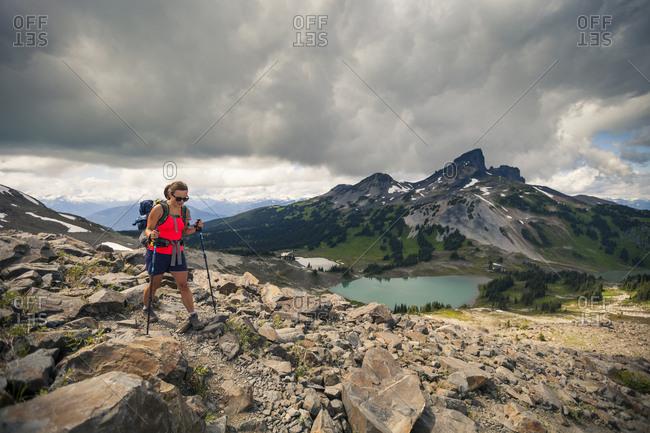 hiking in Garibaldi Provincial Park, British Columbia, Canada