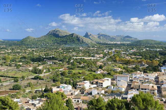 Views from the Calvari Chapel towards Cabo Formentor (Majorcan Cap Formentor)