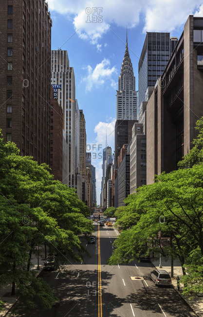 Chrysler Building at 42nd street