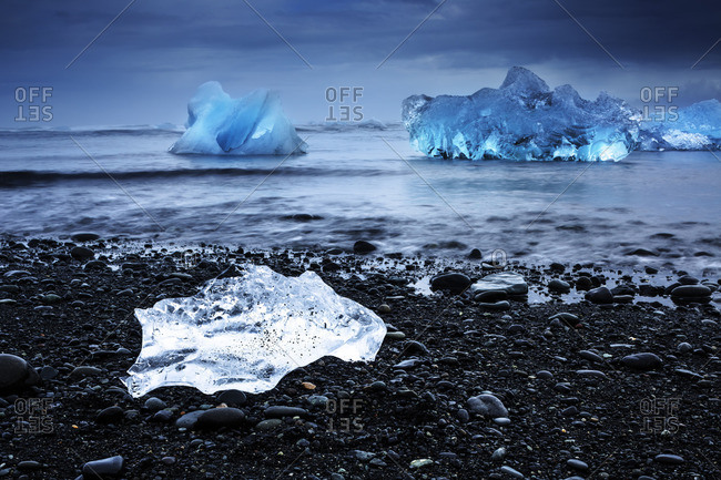 Jokulsarlon photo from the Offset Collection