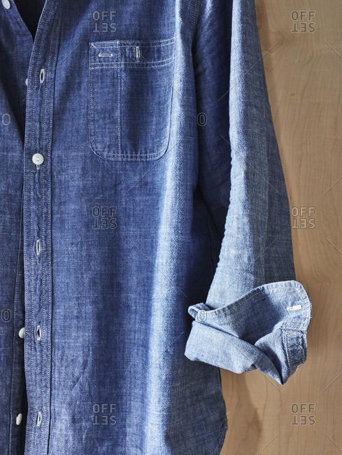 Button up denim shirt