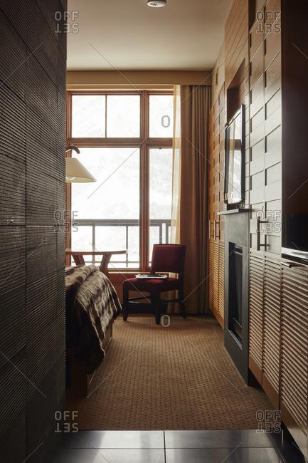 View of modern bedroom