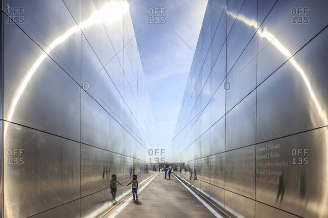 9/11 memorial in Liberty State Park