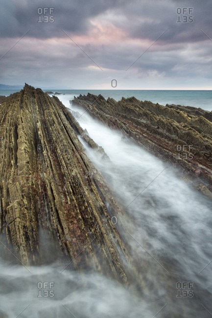 Geological phenomenon of the flysch