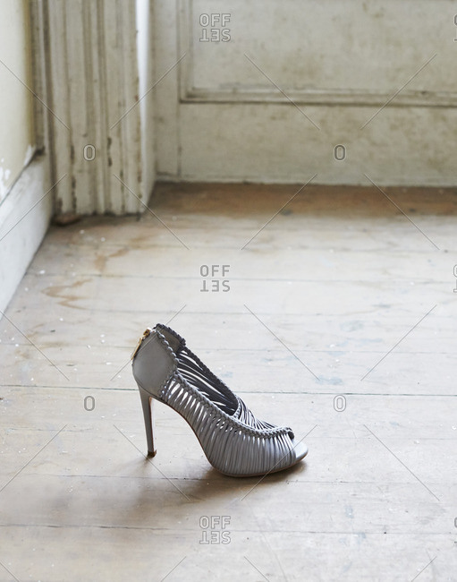 High heel on a floor