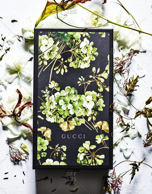 Gucci box and flowers - Offset
