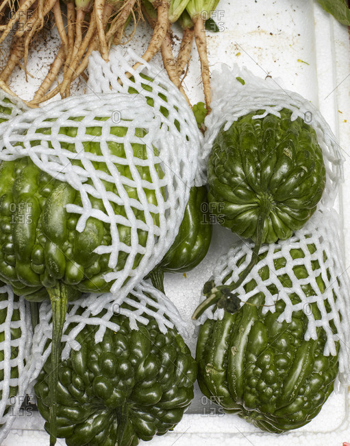 Bumpy green vegetables - Offset Collection