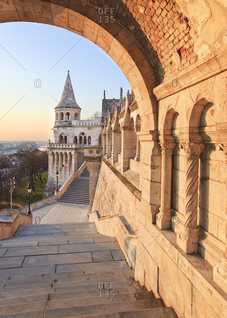 Sunrise at Fishermen's Bastion