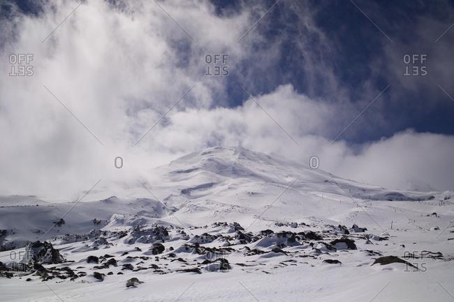 Turoa ski field on Mount Ruapehu