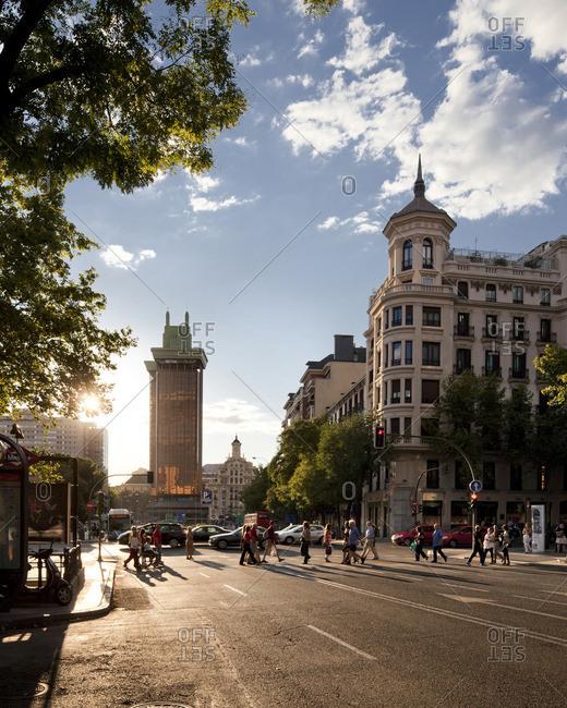 Calle Goya and Calle Serrano