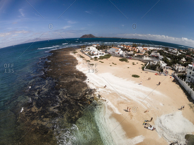 Coast of Corralejo, Canarias