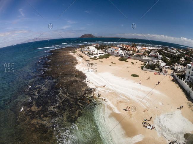 Coast of Corralejo, Canarias