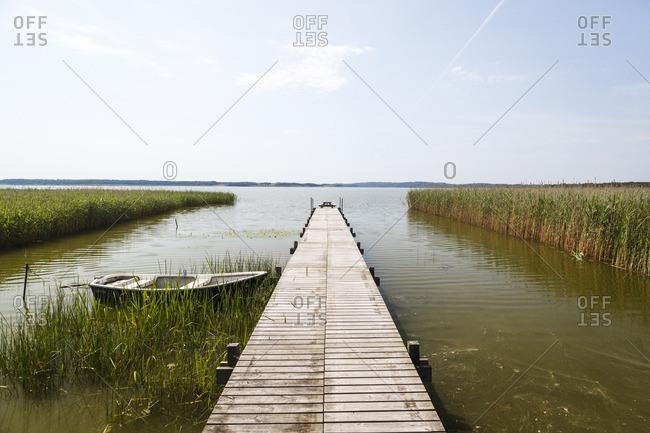 Pier at Arreso Lake