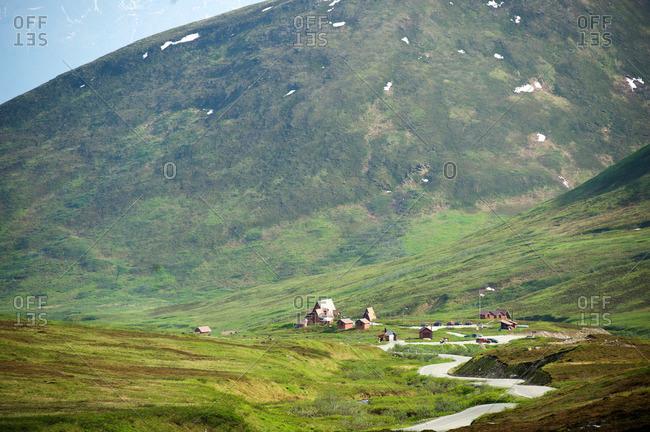 Hatcher Pass lodge, Hatcher Pass, Matanuska Valley, Palmer, Alaska, USA