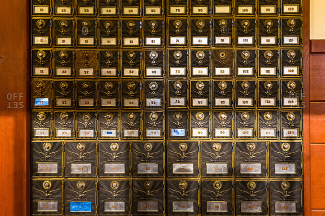 Old fashioned mailboxes - Offset Collection