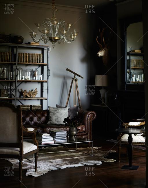August 6, 2014: Living room setting
