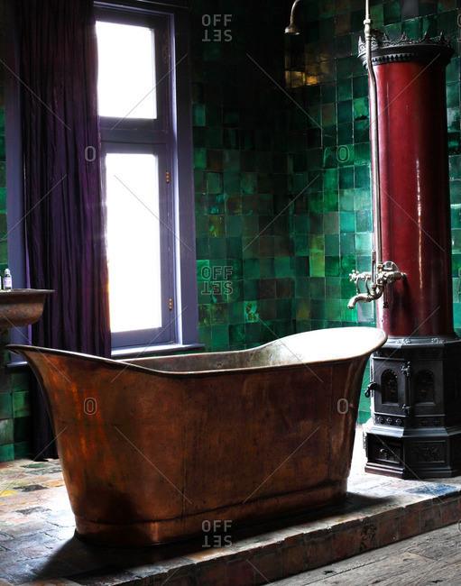 November 28, 2013: Bathroom in Dutch apartment