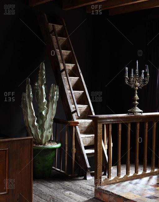 November 27, 2013: Bedroom in Mayer Manor, Amsterdam