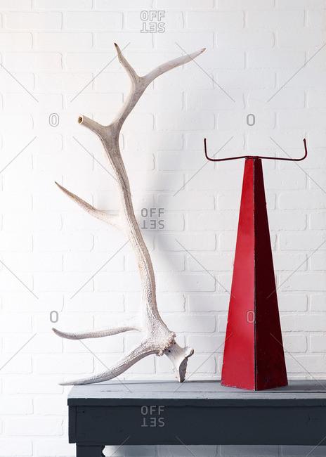 October 3, 2014: Horns and sculptural item