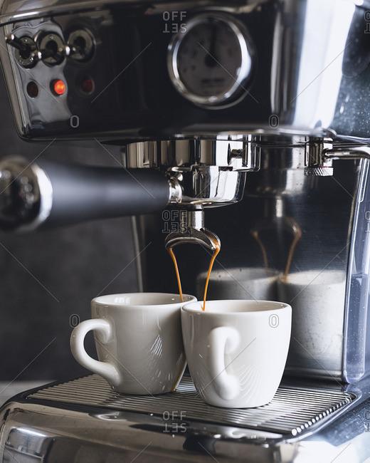 delonghi espresso wash machine leaking water