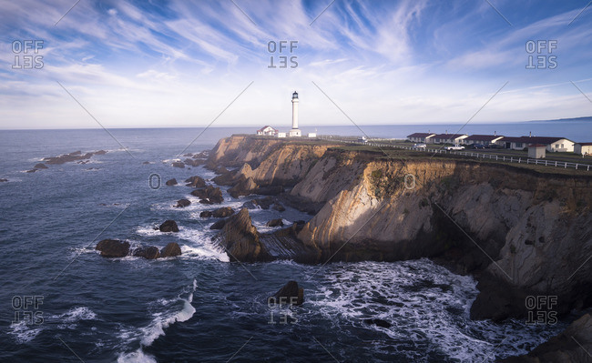 USA, California, Point Arena Lighthouse