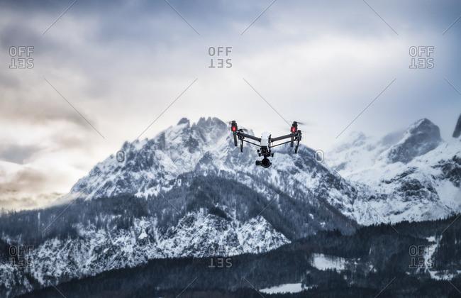 Austria, Salzburg State, Hochkoenig Mountain, Drone