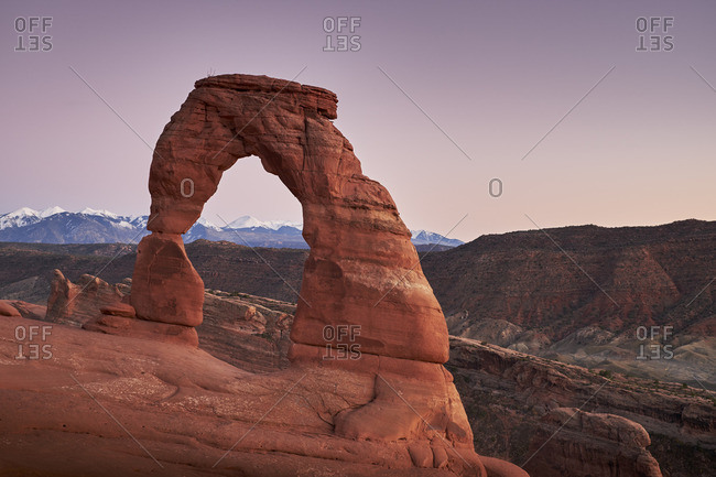 Delicate Arch formation, Utah