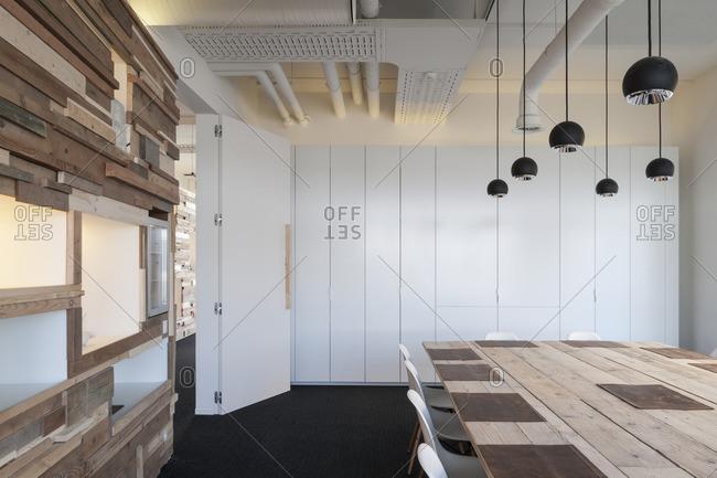 April 25, 2013: Modern dining room design