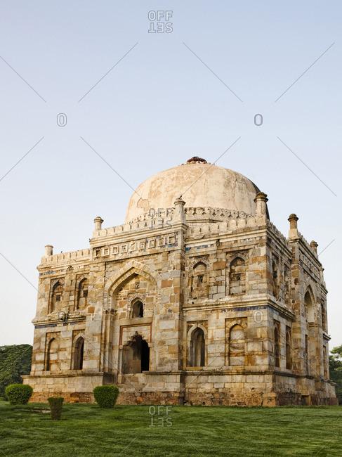 The Shish-Gumbad Tomb in Lodi Gardens, New Delhi, India