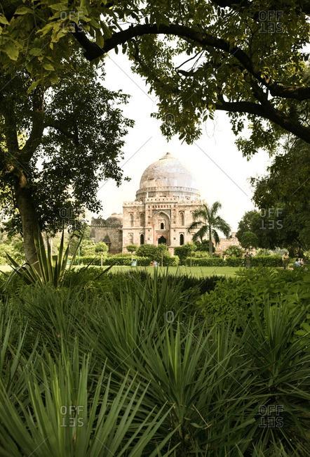 The Bara-Gumbad Tomb, New Delhi, India