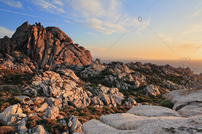 Gallura's typical rock formations